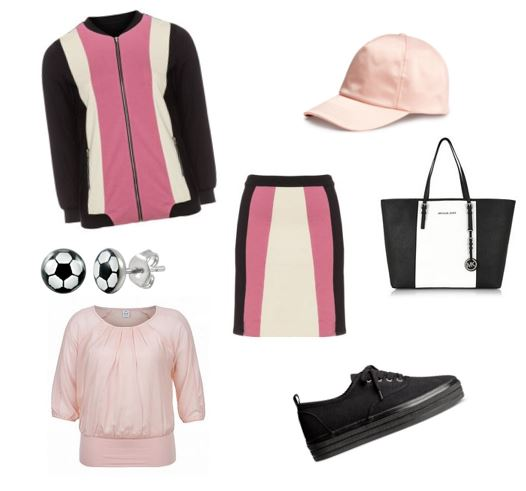 sporty chic look 1