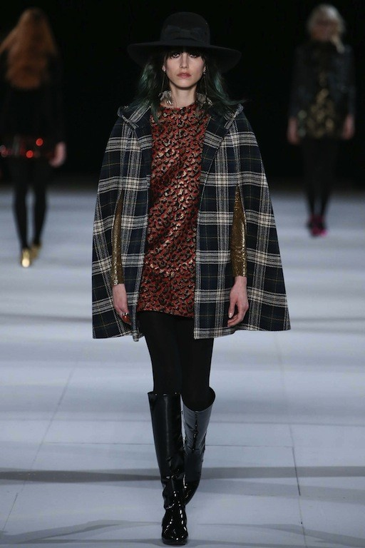 saint laurent checker chic